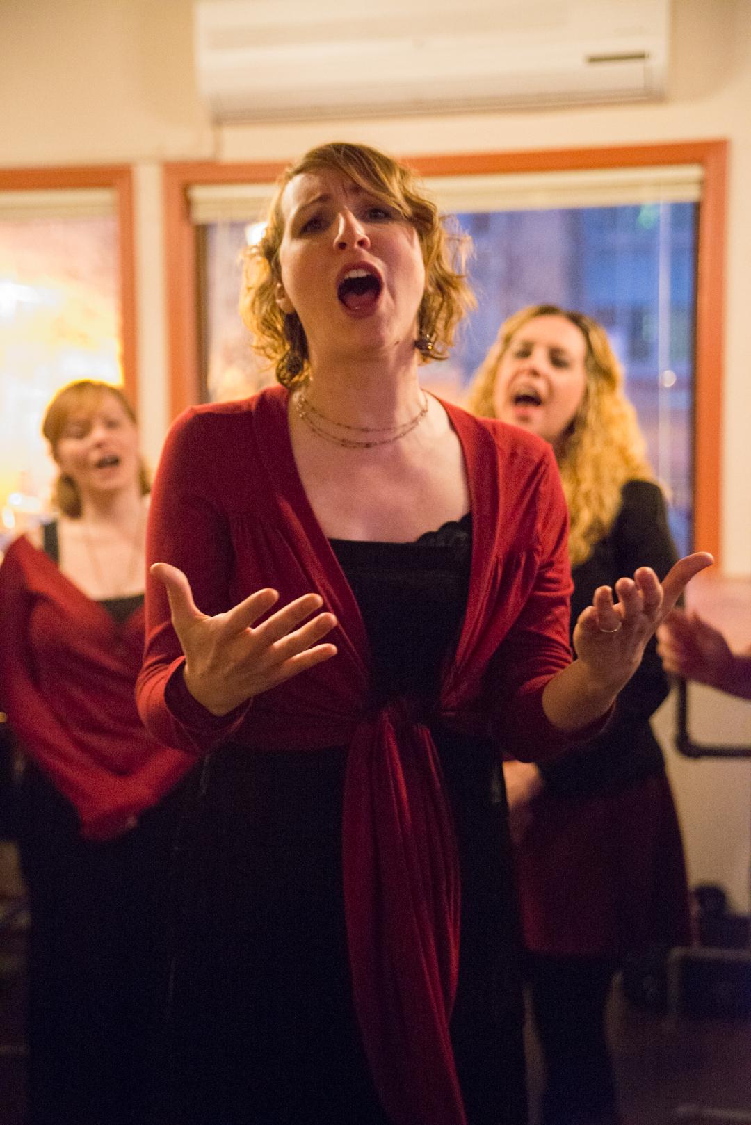 Singing with Cabaret Sauvignon