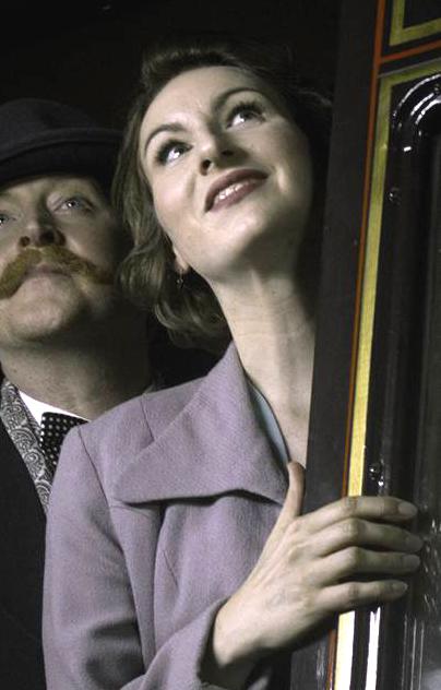 Miss Purviance in The Monterrey Express